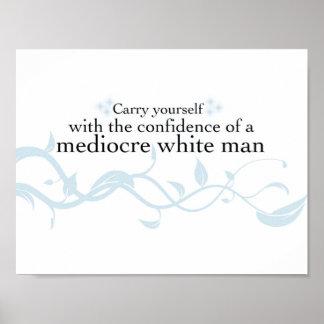 Bär sig yourself med förtroendet… poster