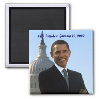 Barack Obama 44th president Magnet