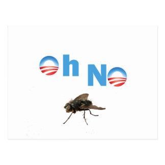 Barack Obama den klipska mördare Vykort