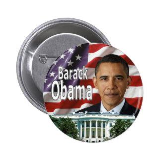 Barack Obama knäppas Standard Knapp Rund 5.7 Cm