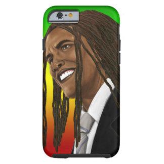 Barack Obama Rasta ReggaeiPhone Tough iPhone 6 Skal