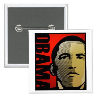 Barack Obama toppenhjälte Pins