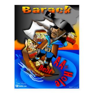 Barack piraten AA+ Vykort