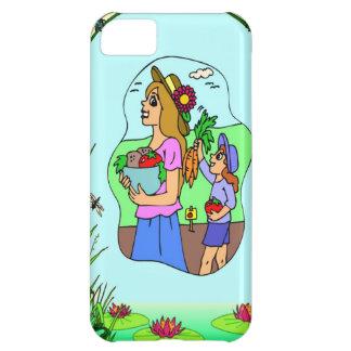 Bärande grönsaker iPhone 5C fodral
