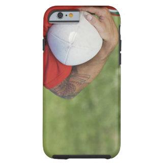 Bärande rugbyboll för man tough iPhone 6 skal