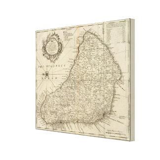 Barbados Canvastryck