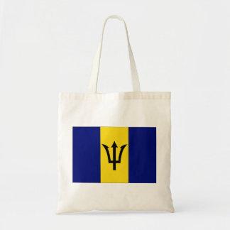 Barbados flagga budget tygkasse