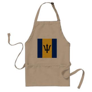 Barbados flagga förkläde
