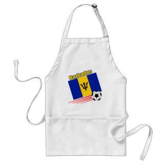 Barbados fotbolllag förkläde