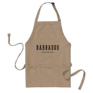 Barbados Lesser Antilles Förkläde
