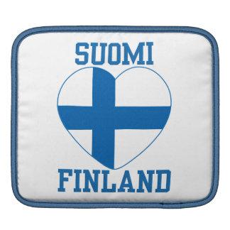 Bärbar dator/ipad sleeve för SUOMI FINLAND