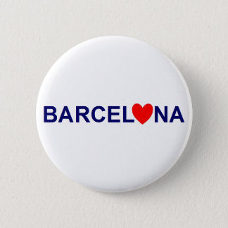 Barcelona love standard knapp rund 5.7 cm