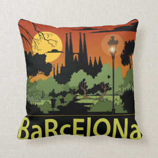 "Barcelona polyesterdekorativ kudde 16"" x 16"","
