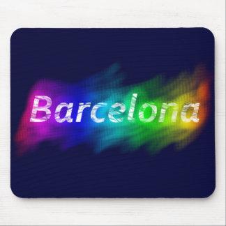 Barcelona stolt stad musmatta