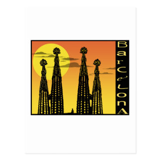 Barcelona vykort