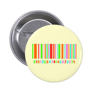 Barcode Standard Knapp Rund 5.7 Cm