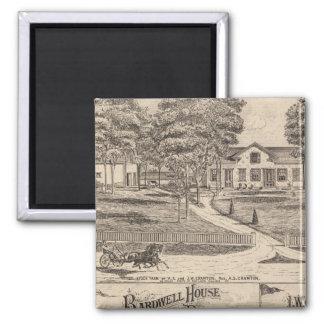 Bardwell hus i Rutland Vermont Magnet