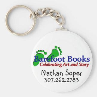 Barfota bokar av Nathan Rund Nyckelring