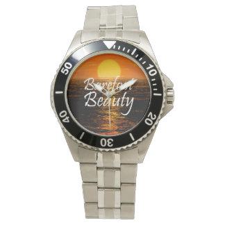 Barfota skönhet för UTSLAGSPLATS Armbandsur