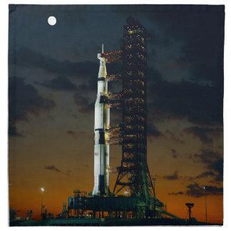 Barkass för Saturn V utrymmeraket Tygservett
