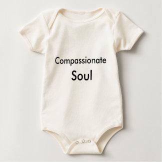 Barmhärtig Soul organiska Onsie Sparkdräkter