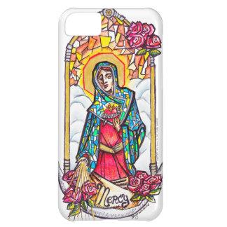 Barmhärtigt Mary jungfruligt Mary fodral iPhone 5C Fodral