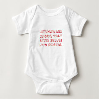 Barn är änglar, den mer sistnämnd evolve in i tröjor