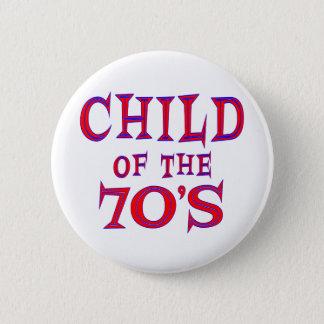 Barn av 70-tal standard knapp rund 5.7 cm