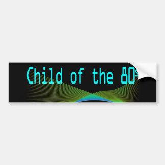 Barn av den 80-talNumper klistermärken