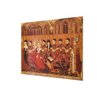 Barn av Jean mig Jouvenel des Ursins och Canvastryck