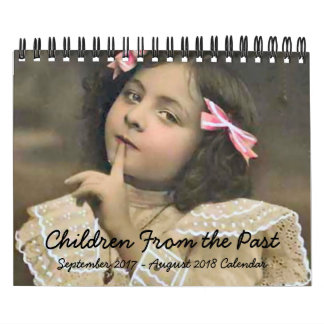 Barn från den förgångna Septen 2017 - Aug 2018 Kalender