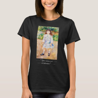 Barn med en piskaPierre Auguste Renoir målning T Shirt