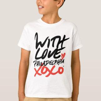Barn med kärlek, Philadelphia XOXO T-tröja Tröja