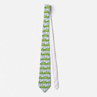Barn och parkerar slips