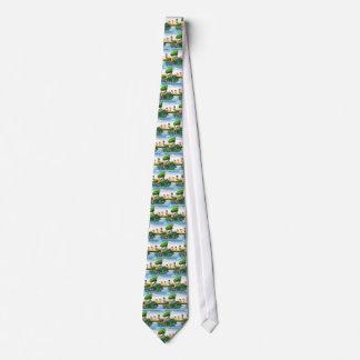 Barn och strömmer slips