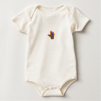 Barn räcker kalkonen - skjorta bodies