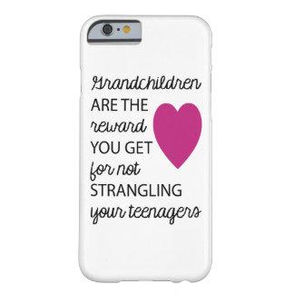 Barnbarn är fodral för belöningiPhone 6 Barely There iPhone 6 Fodral