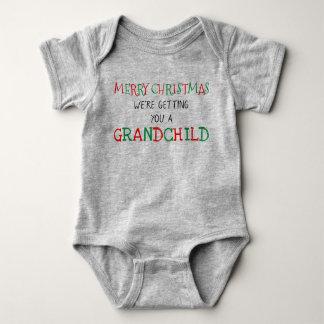 Barnbarn för jul t shirts