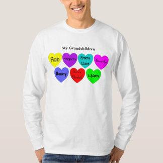 Barnbarn - sakkunniga beställer tee shirts