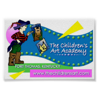 Barnens konstakademin poster
