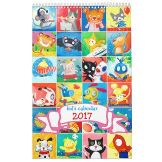 barnkalender 2017 kalender