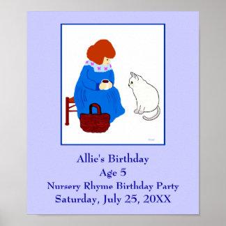 Barnkammarerimfödelsedagsfest Poster