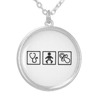 Barnmorskabebisnappar Personliga Halsband