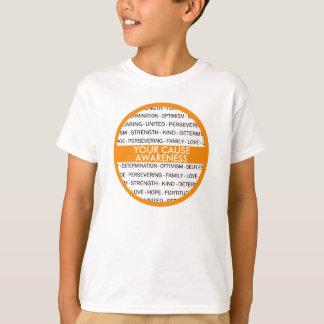 Barns beställnings- medvetenhetutslagsplats tröjor