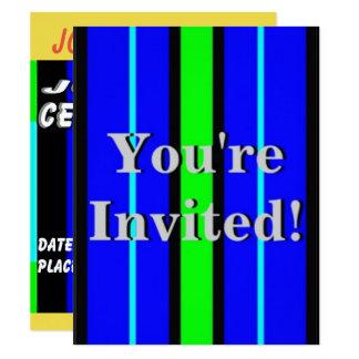 Barns födelsedagparty 10,8 x 14 cm inbjudningskort