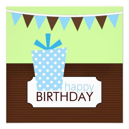 Barns födelsedagpartyinbjudningar tillkännagivanden