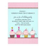 Barns födelsedagpartyinbjudningar