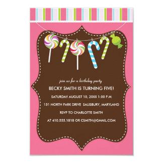 Barns födelsedagpartyinbjudningar 8,9 x 12,7 cm inbjudningskort