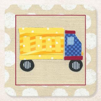 Barns lastbil av Chariklia Zarris Underlägg Papper Kvadrat
