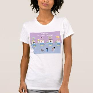 Barns sjukhussalanpassade tee shirt